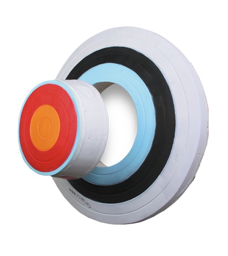Rinehart 18411 Genesis Youth 3-D Foam Archery Shooting Target Multicolors by Rinehart Targets