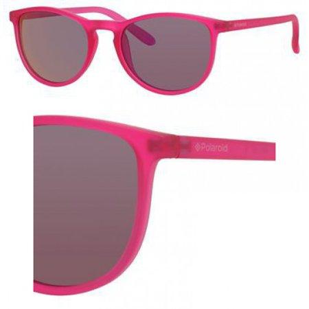 Sunglasses Polaroid Core Pld 8016  N 0Ims Bright Pink   Ai Brown Mirror Pol Lens