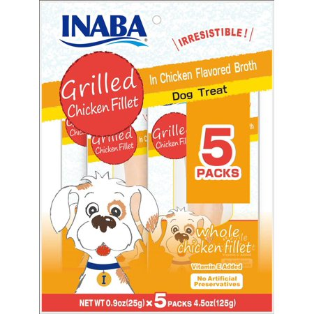 Inaba Ciao Grain-Free Grilled Chicken Fillet In Chicken Flavored Broth (5