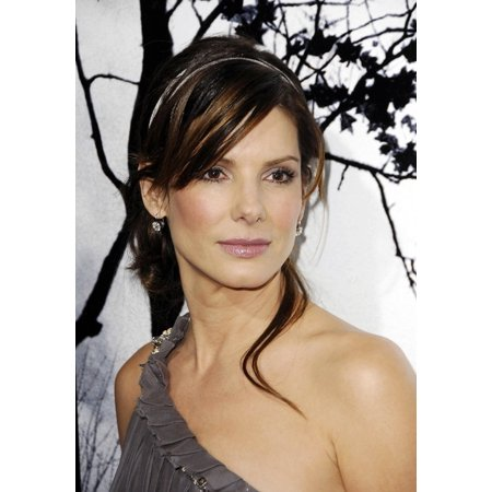 Sandra Bullock At Arrivals For Premonition World Premiere Arclight Hollywood Cinerama Dome Los Angeles Ca March 12 2007 Photo By Michael Germanaeverett Collection Photo Print