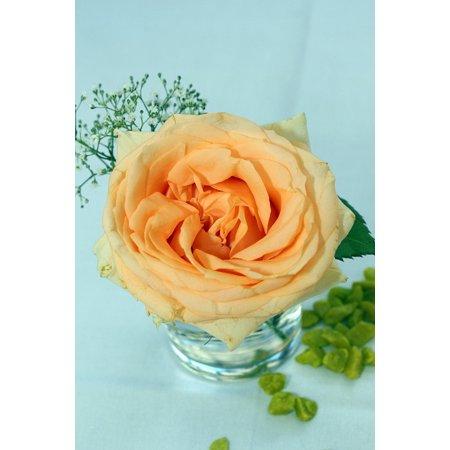 LAMINATED POSTER Orange Table Decoration Floral Arrangement Rose Poster Print 24 x 36 ()
