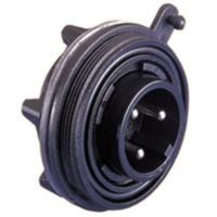 BULGIN PX0738/S CIRCULAR CONNECTOR, RECEPTACLE, 6POS, PANEL
