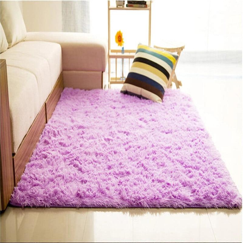 Soft Fluffy Floor Rug Anti-skid Shag Shaggy Area Rug