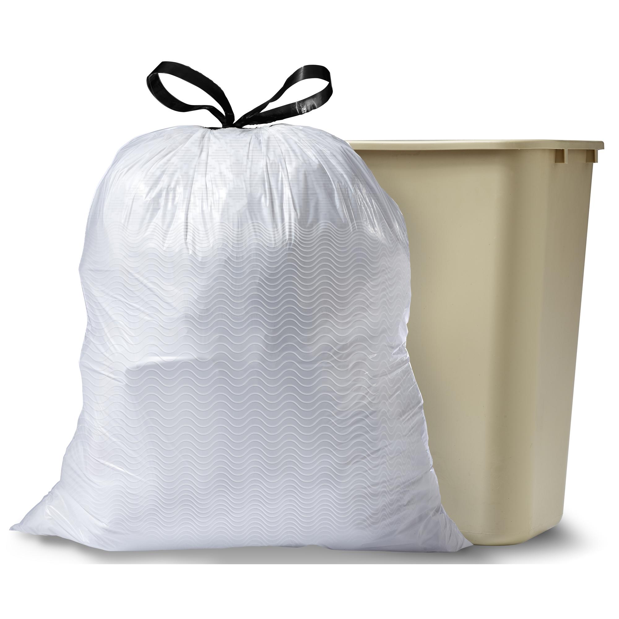 45 ct, Glad Tall Kitchen Draw string Trash Garbage Bags 13 Gallon