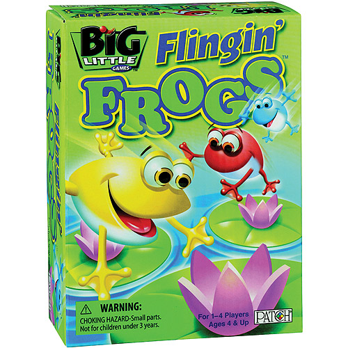 Big Little Games Flingin' Frogs