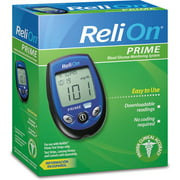 ReliOn Prime Blood Glucose Monitoring System, Blue