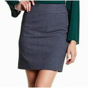 Amanda & Chelsea NEW Blue Womens Size 8P Petite Straight Pencil Skirt