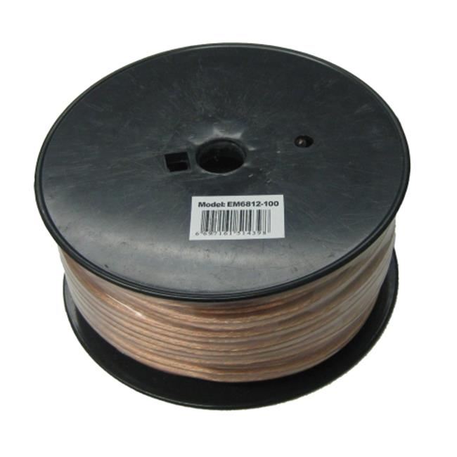 Homevision Technology EM6812100 TygerWire 100-Ft 2-Wire Speaker Cable with 12-AWG
