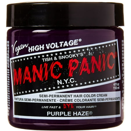 Manic Panic Semi-Permament Hair Color Creme, Purple Haze 4