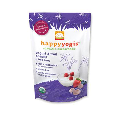 Happy Yogi Mixed Berry Yogurt Snacks (8x1 Oz)