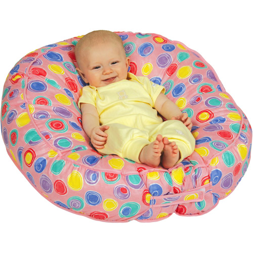 Leachco - Bummzie Adjustable Infant Seat, Pink Bubbles