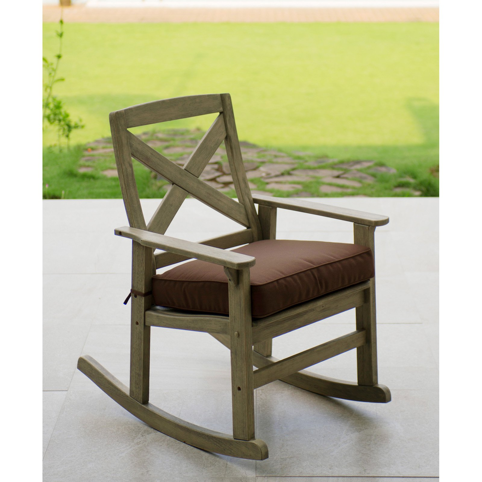 Cambridge Casual West Lake Patio Rocking Chair with Cushion