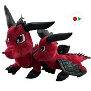 Record Your Own Plush 16 inch Fierce the Baby Dragon. Ready to Love in a Few Easy Steps