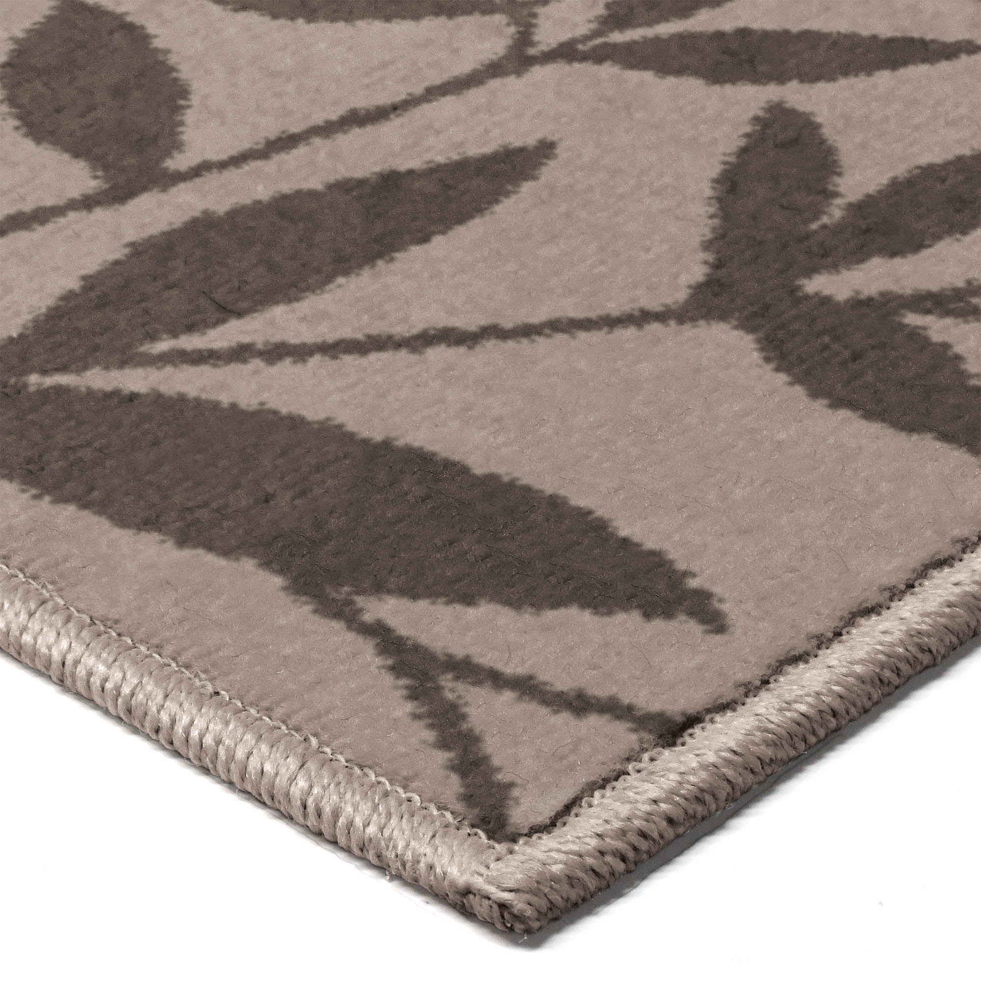 Area rug runner fleur leaf flower modern design home beige - Better homes and gardens iron fleur area rug ...