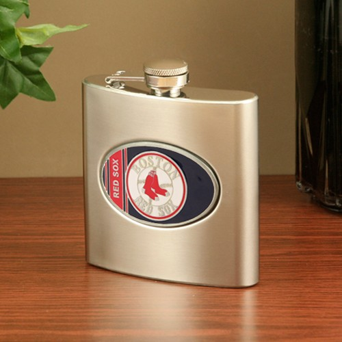 Boston Red Sox Stainless Steel Flask - No Size
