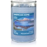 American Home by Yankee Candle Clear Mountain Lake, 19 oz Large 2-Wick Tumbler