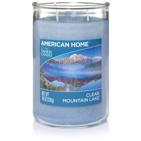 American Home By Yankee Candle Clear Mountain Lake Candle, 19 oz Large 2-Wick Tumbler