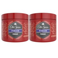 Old Spice Mens Hair Styling Pomade, Medium Hold, 2.64 oz, 2 pack