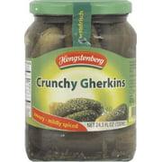Hengstenberg Crunchy Gherkins, Mildly Spiced, 24.3 Oz