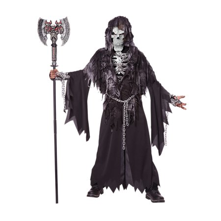 Child Boy Evil Unchained Skeleton Costume by California Costumes 00463](Boys Skeleton Costumes)
