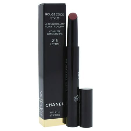 Chanel Rouge Coco Stylo Complete Care Lipshine - # 216 Lettre 0.07 oz - Chanel Sheer Lipstick