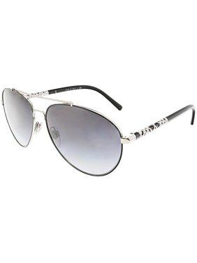 cd993c6d7aaa Product Image Burberry Women s Gradient BE3089-10058G-58 Black Aviator  Sunglasses