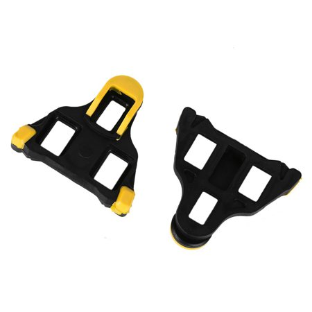 HiCoup 2Pcs Road Bike Cycling Bicycle Self-locking Pedal Cleats Set Outfits  for Shimano - Walmart.com b34c763db