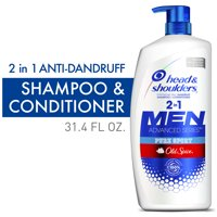 Head and Shoulders 2 in 1 Shampoo, Old Spice Pure Sport, 31.4 oz