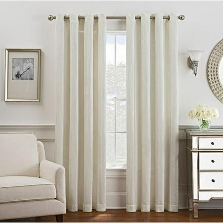 Style Domain Blackout Single Curtain Panel