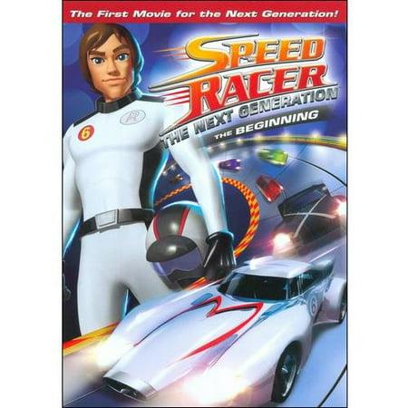 Speed Racer: The Next Generation - The Beginning (Speed Racer Cartoon)