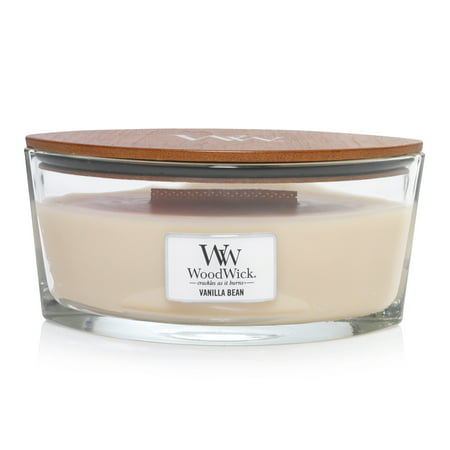 WoodWick Vanilla Bean - Ellipse Candle