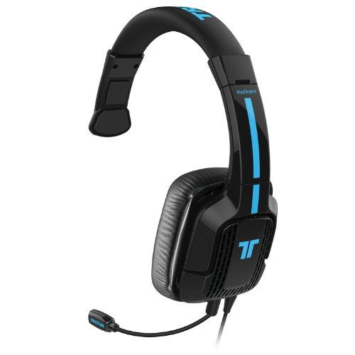 Tritton Kaiken Mono Chat Headset For Playstation 4, Playstation Vita & Mobile Devices - Mono - Mini-phone - Wired - 16 Ohm - 20 Hz - 20 Khz - Over-the-head - Monaural - Circumaural (tri898020002-02-1)