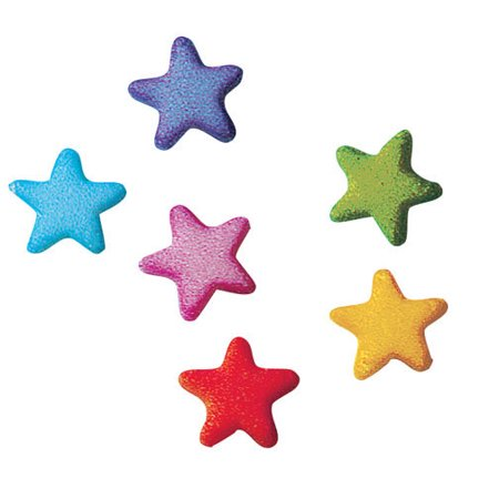 Rainbow Stars Charms Assortment Sugar Decorations Toppers Cupcake Cake Cookies Birthday Favors Party 12 Count](Purple Minion Cupcakes)