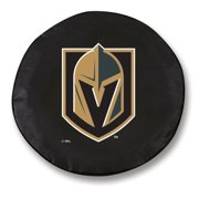 27 x 8 Vegas Golden Knights Tire Cover by Holland Bar Stool Co.