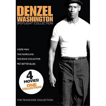 Denzel Washington Spotlight Collection: Bone Collector / Hurricane / Inside Man / Mo' Better Blues - Halloween Events In Washington Mo