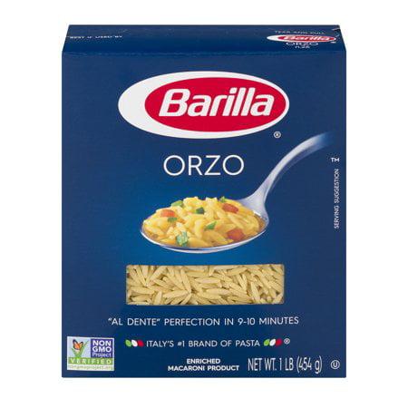 (4 Pack) Barilla Pasta Orzo, 16 oz