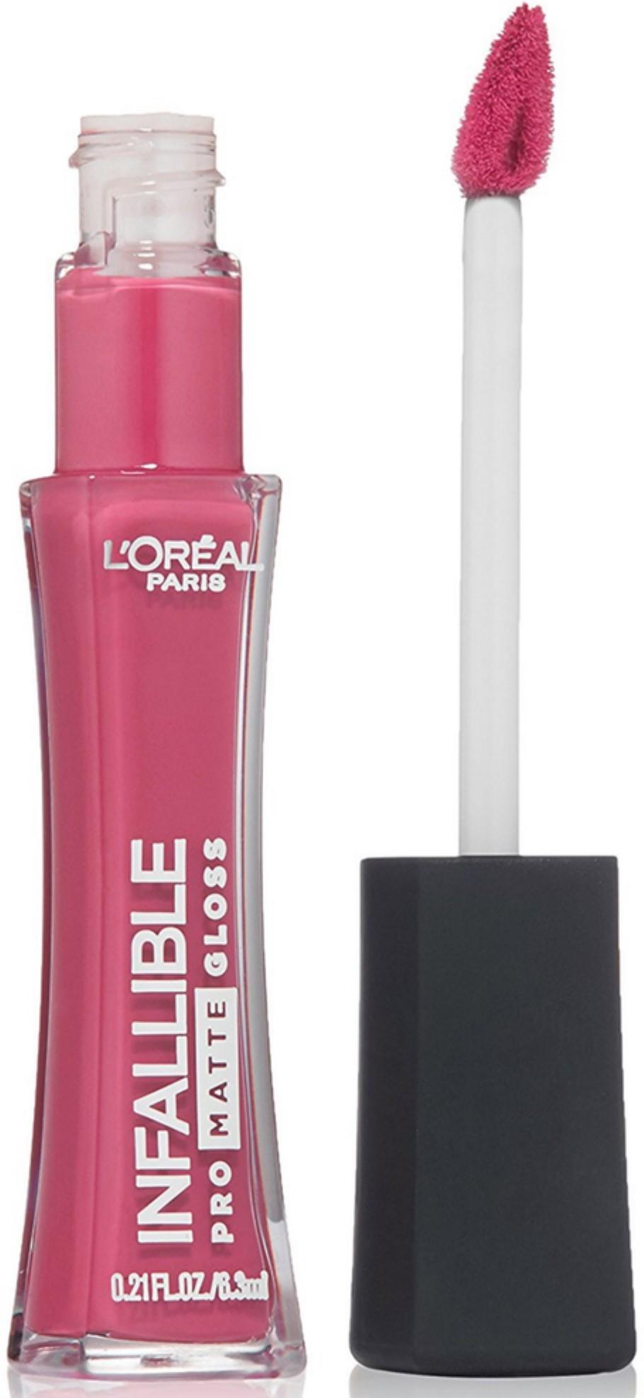 L'Oreal Paris Infallible Lip Pro Matte Gloss, Fuchsia Amnesia