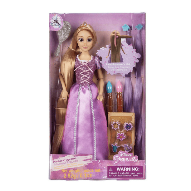 Disney Store Princess Rapunzel Hair Play Doll New with Box