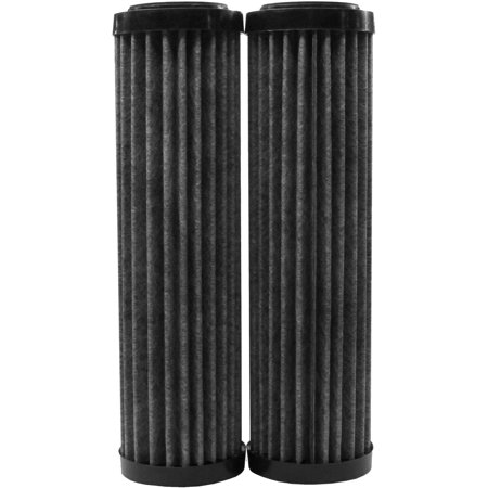 EcoPure EPW2F Premium Carbon Universal Whole Home Filter (2-Pack)