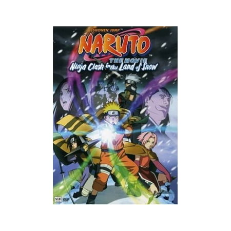 Naruto The Movie: Ninja Clash In The Land Of Snow (DVD) - Snow Ninja Gay