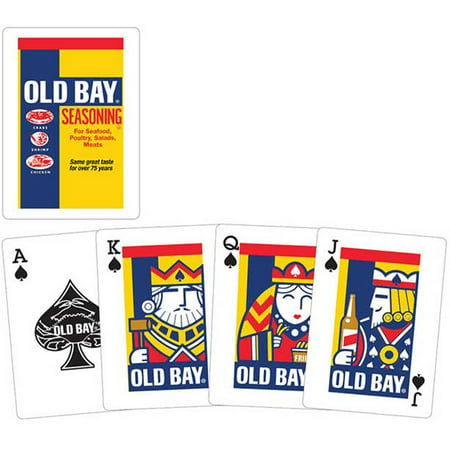 Old Bay Playing Cards Seasoning Holiday Tree  Crab Seafood Spice Gift (Seafood Gift)