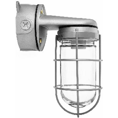 RAB Lighting VAPORPROOF 100 WALL BRACKET 4in BOX 1/2in WITH PERMA