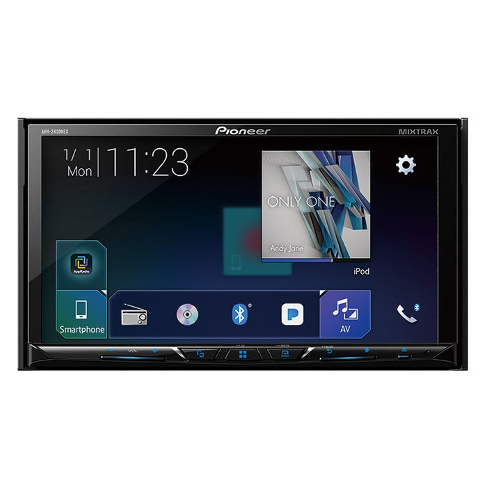 """Pioneer AVH-2400NEX 7"""" Touchscreen Double Din Android Auto and Apple CarPlay In-Dash DVD/CD Bluetooth HD Radio Car Stereo Receiver"""