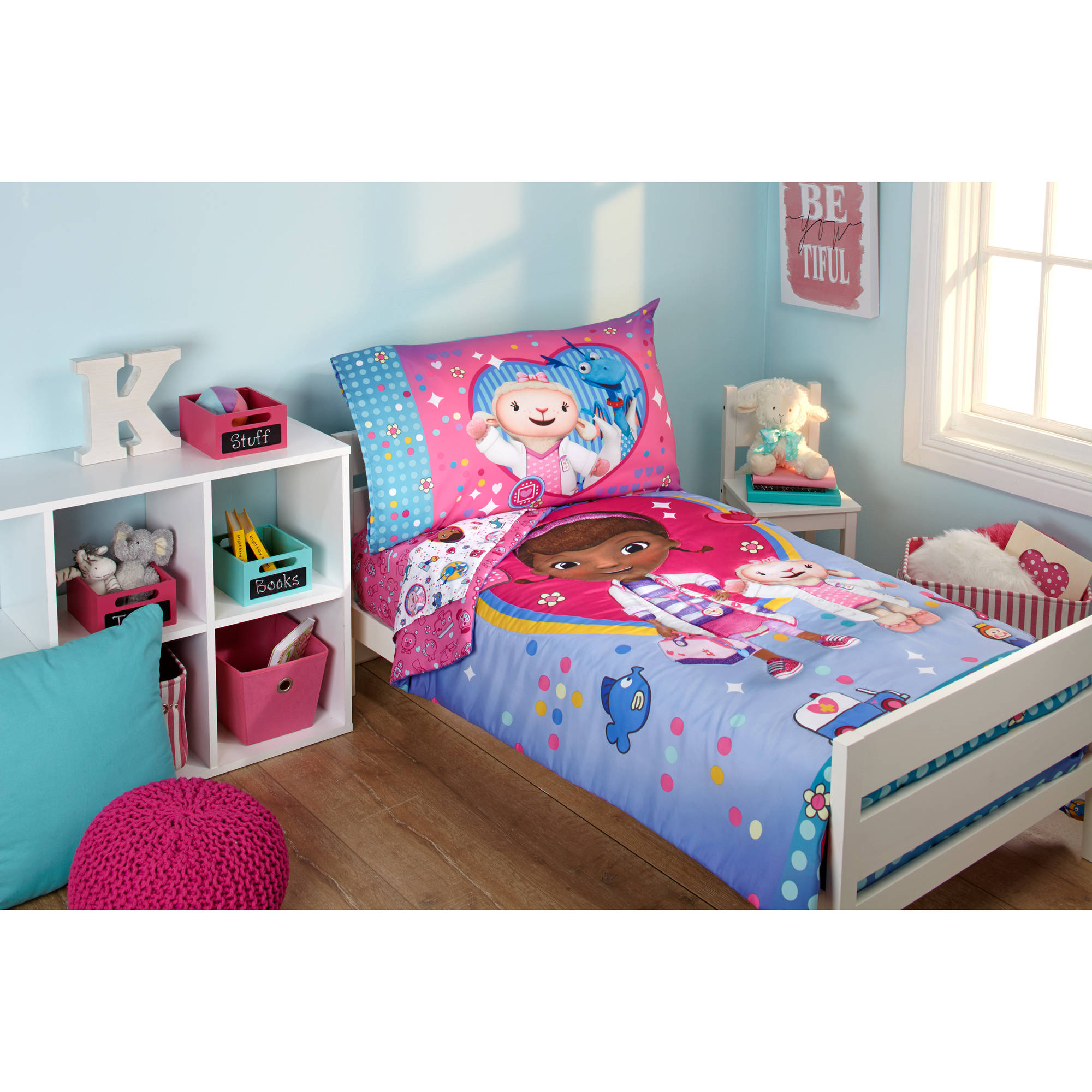 doc mcstuffins bedroom set disney doc mcstuffins doc 4 toddler bedding set 15192