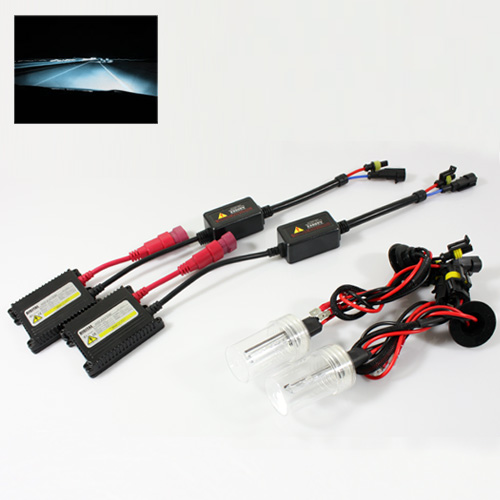 ModifyStreet® H1 35W Hi-Power Slim DC Ballast Xenon HID Conversion Kit - 8000K Plasma White