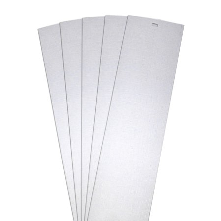 DALIX Lino Vertical Blinds Replacement Slats White 82.5