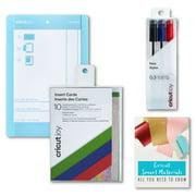 Cricut Joy Machine Card Cutting Mat, Pens, Insert Cards, Rainbow Scales Bundle