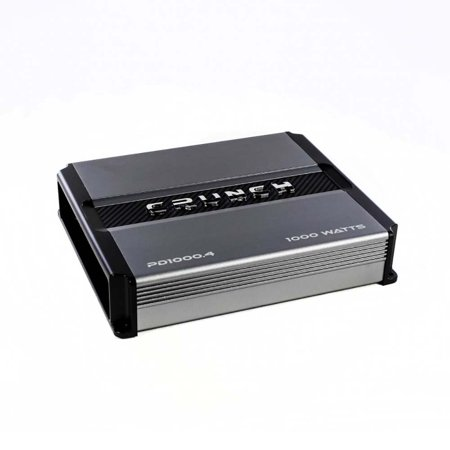 Crunch PD 1000.4 POWER DRIVE Class AB 4-Channel Pro Power Bridgeable Amp, 1,000 Watts Max (Pro Pwr Amp)