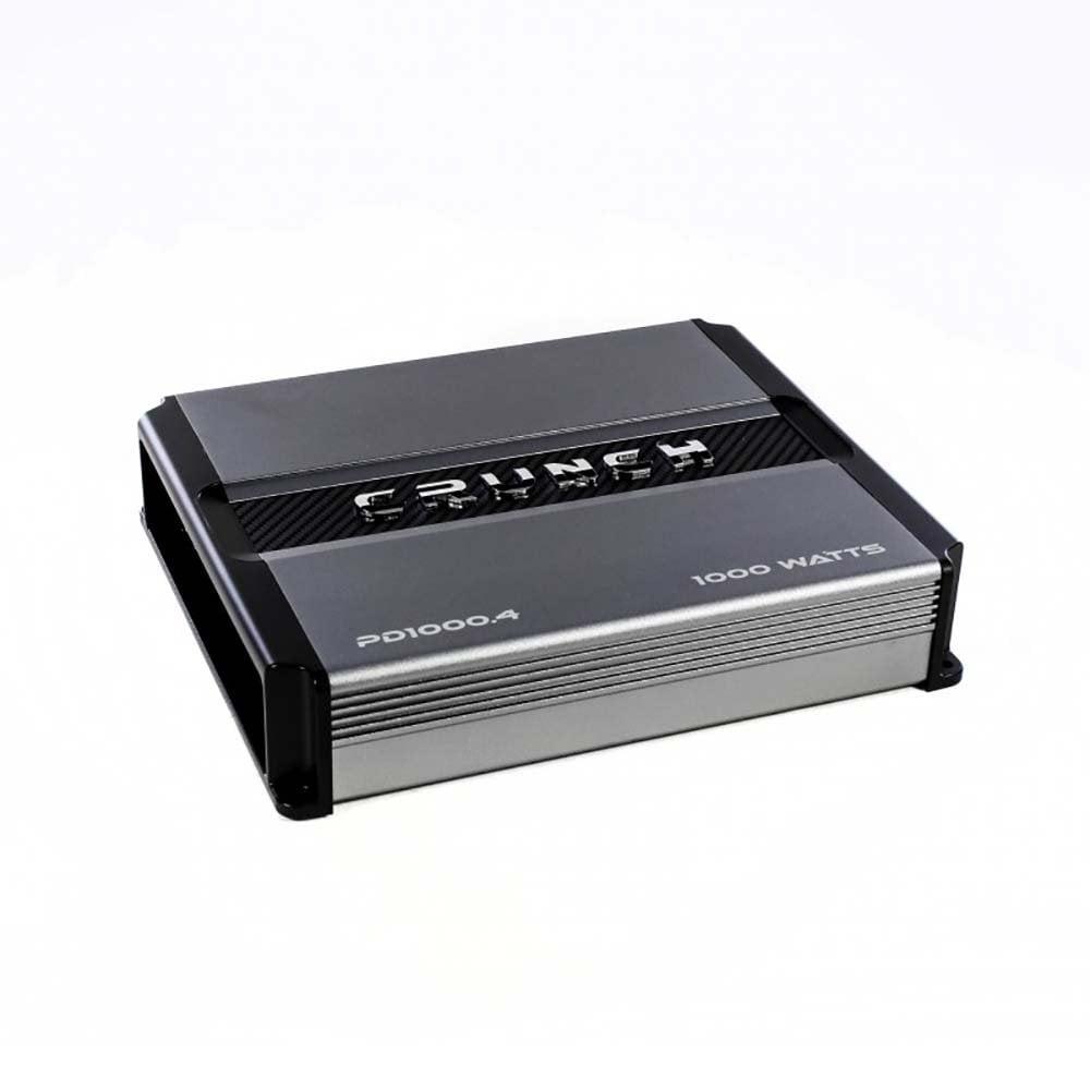 Crunch PD 1000.4 POWER DRIVE Class AB 4-Channel Pro Power Bridgeable Amp, 1,000 Watts Max