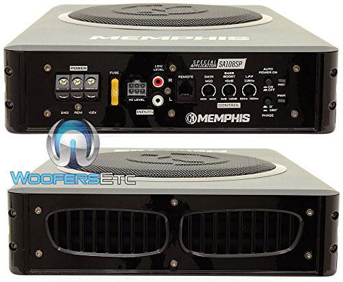 15-SA108SP Memphis 8 Powered Underseat Loaded Amplifier Subwoofer Enclosure